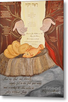 The Lord's Provision Metal Print by Michelle Bentham
