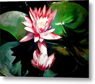 The Lotus Metal Print by John  Duplantis