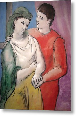The Lovers Metal Print by Pablo Picasso
