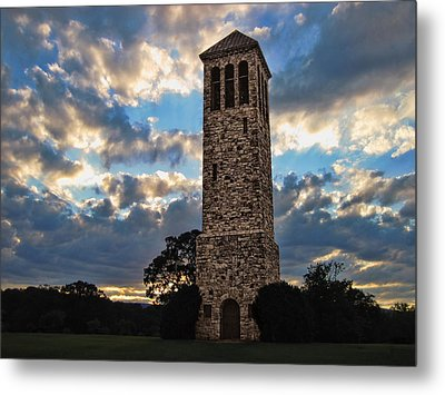The Luray Singing Tower Metal Print by Lara Ellis