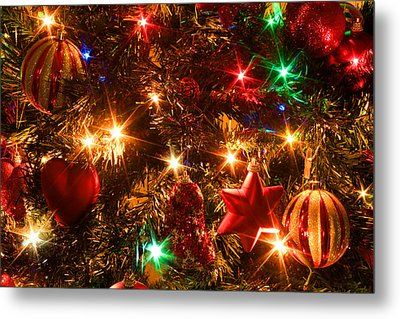 The Magic Of Christmas Metal Print by Julia Fine Art And Photography