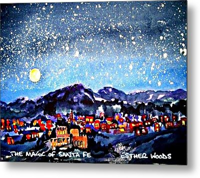 The Magic Of Santa Fe Metal Print