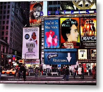 The Magic Of The City #4 Metal Print