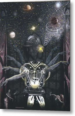 The Magician Metal Print by Larry Butterworth