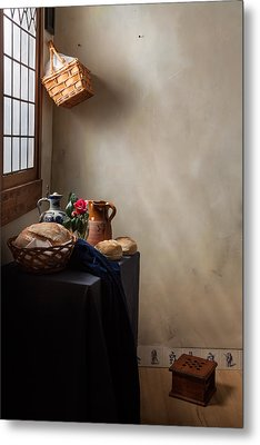 Metal Print featuring the photograph The Maid Has Left by Levin Rodriguez