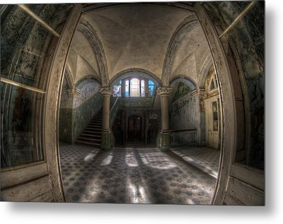 The Main Entrance  Metal Print by Nathan Wright