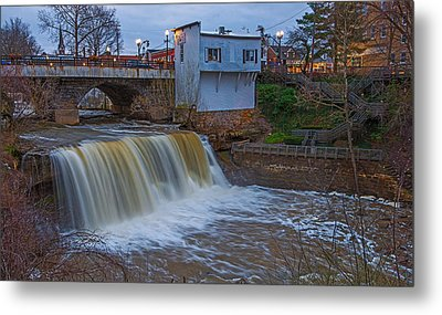 The Main Falls Metal Print