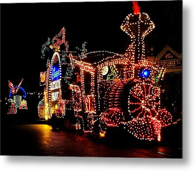The Main Street Electrical Parade Metal Print