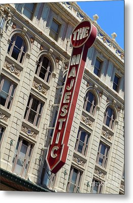 Metal Print featuring the photograph The Majestic Theater Dallas #2 by Robert ONeil