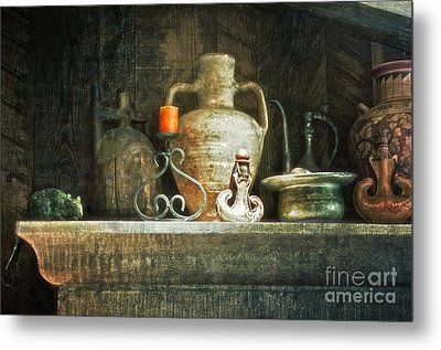 Metal Print featuring the photograph The Mantle by Vicki DeVico