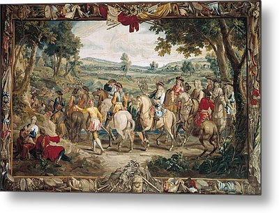 The March. 17th C. Germany. Munich. New Metal Print by Everett