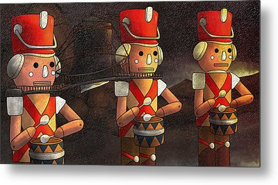 The March Of The Wooden Soldiers Metal Print