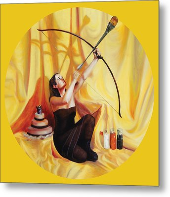 The Markswoman Metal Print