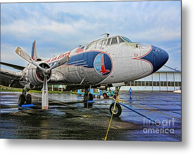The Martin 404 - Eastern Airlines Metal Print by Lee Dos Santos