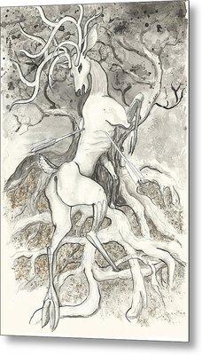 The Martyr Metal Print by Melinda Dare Benfield