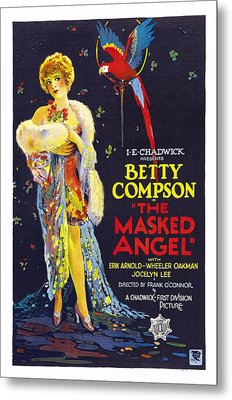 The Masked Angel, Us Poster, Betty Metal Print by Everett