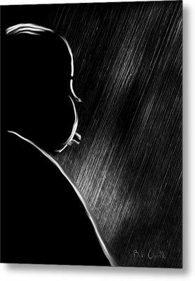 The Master Of Suspense Metal Print by Bob Orsillo