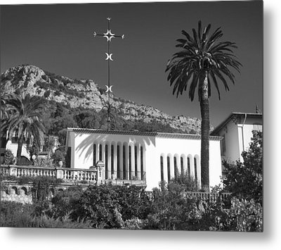 Metal Print featuring the photograph The Matisse Chapel Vence by Richard Wiggins