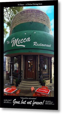 The Mecca Restaurant Metal Print