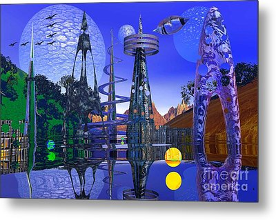 Metal Print featuring the photograph The Mechanical Wonder by Mark Blauhoefer