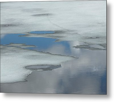 Metal Print featuring the photograph The Melt by Gene Cyr