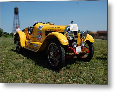 The Mercer Raceabout Roadster Metal Print by Mustafa Abdullah