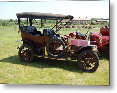 The Mercer Touring Sedan Metal Print by Mustafa Abdullah