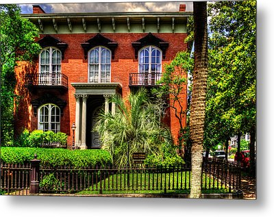 The Mercer Williams House Metal Print by Greg Mimbs