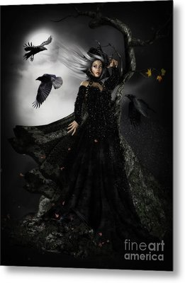 The Messengers Metal Print by Shanina Conway