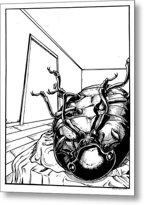 The Metamorphosis Metal Print by John Ashton Golden