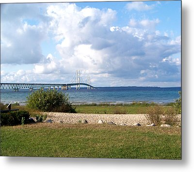 The Mighty Mac Metal Print by Jennifer  King