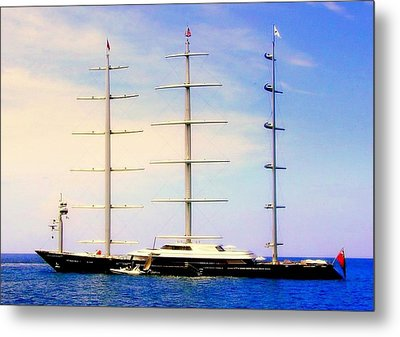 The Mighty Maltese Falcon Metal Print by Karen Wiles