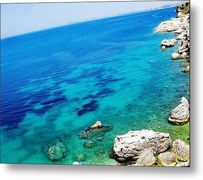 The Mighty Ocean Metal Print