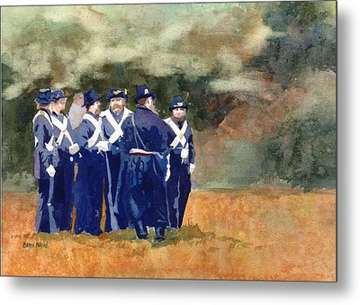 The Militia Metal Print