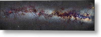 The Milky Way From Scorpio And Antares To Perseus Metal Print by Guido Montanes Castillo