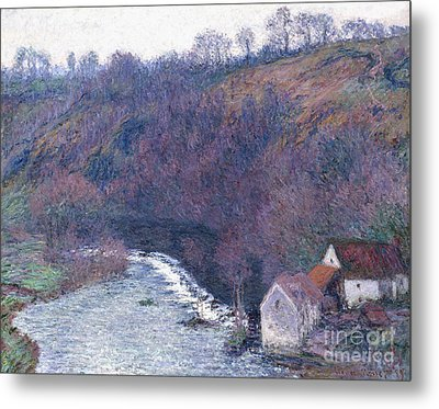 The Mill At Vervy Metal Print by Claude Monet
