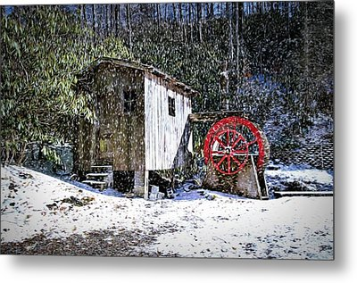 The Mill Metal Print