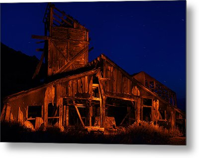 The Mill Metal Print by Greg Thelen