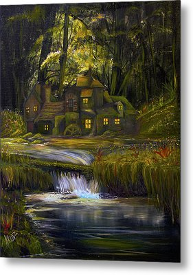 The Mill Metal Print by James Kruse