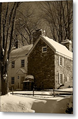 The Miller's House Metal Print by Gordon Beck