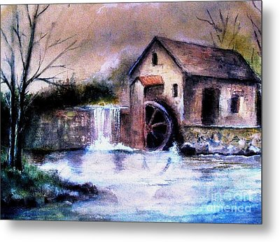 The Millstream Metal Print by Hazel Holland
