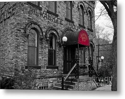 The Milwaukee House Metal Print by Randall  Cogle