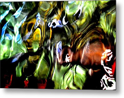 Metal Print featuring the photograph The Mind's Eye  by Deena Stoddard