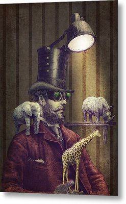 The Miniature Menagerie Metal Print