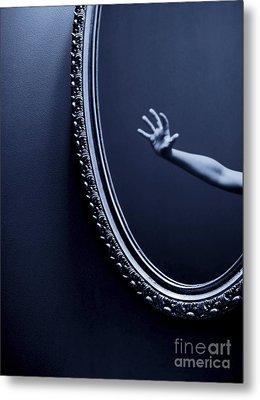 The Mirror Metal Print by Diane Diederich