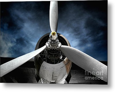 The Mission Metal Print