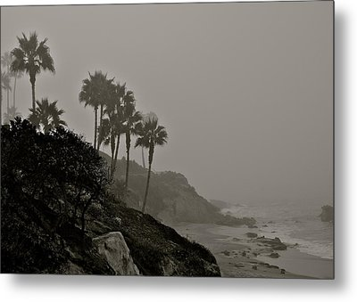 The Mists Of Laguna Beach Metal Print