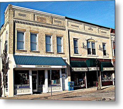 The Mitchell Buildings Metal Print by MJ Olsen