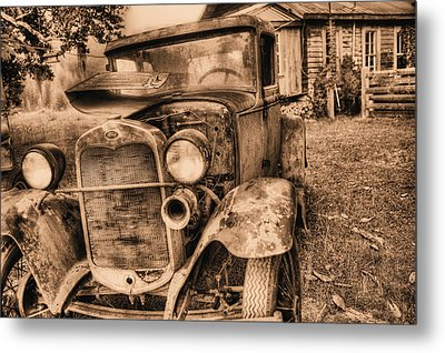 The Model A Metal Print by JC Findley