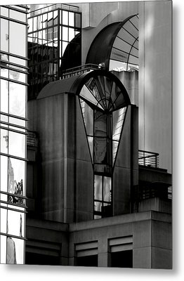 The Modern Highrise Metal Print by Bill Gallagher